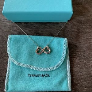 Tiffany & Co Paloma Picasso Double Heart Necklace